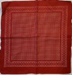 120 Units of Bandana Red Dot - Bandanas