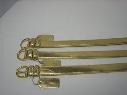 96 Units of Skinny Gold Belt Thin Waist Jeans Belt For Pants In Pin Buckle Belt - Unisex Fashion Belts