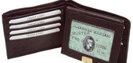 24 Units of Men Black BI-Fold Leather Wallet - Leather Wallets