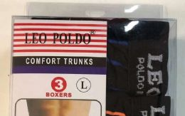 36 Units of Men Striped Box Underwear Mixed Colors And Sizes - Mens Underwear