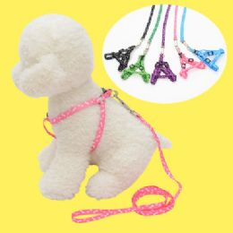 48 Units of No Harm Dog Leash In Assorted Color - Pet Collars and Leashes
