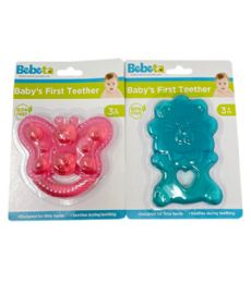 72 Units of TEETHER BLUE AND PINK ASSORTED - Baby Toys