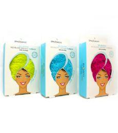 48 Units of Microfiber Hair Towel Spa Savvy - Shower Caps