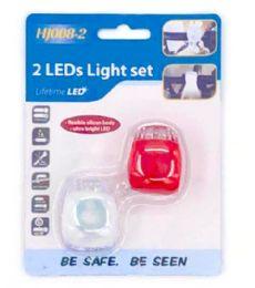 48 Units of 2 Piece Bicycle Lights - Biking