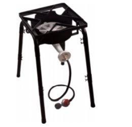 2 Units of Gas Burner With Stand Tall - BBQ supplies