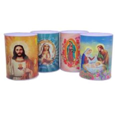 60 Units of Medium Bank Religious Assorted Design - Coin Holders & Banks