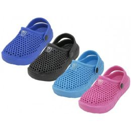36 Units of Youth's Soft Hollow Upper Sport Clogs - Unisex Footwear