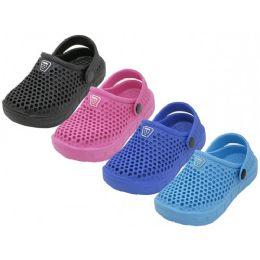 36 Units of Infant's Soft Hollow Upper Sport Clogs - Unisex Footwear
