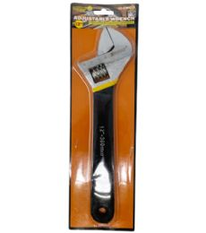 24 Units of 12 INCH ADJUSTABLE WRENCH - Wrenches