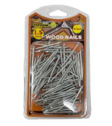 72 Units of 4.5 Oz 1.5 Inch Wood Nails - Hardware Products