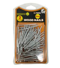 72 Units of 5 Oz 2inch Wood Nails - Hardware Products