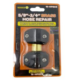 72 Units of 5-8-To 3-4 Repair Brass Hose Connector - Hardware Products