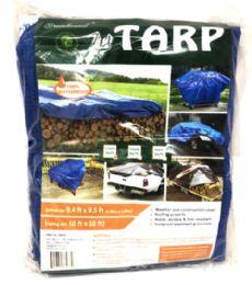 15 Units of 10x10 Blue Tarp - Tarps