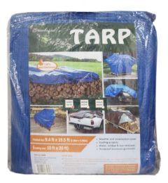 10 Units of 10x20 Blue Tarp - Tarps