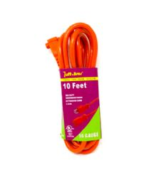 24 Units of 10 Foot Mid Extension Cord - Wires