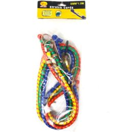 96 Units of 4 Piece Bungee Cord - Bungee Cords