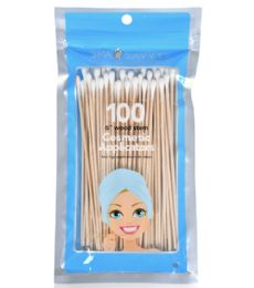 72 Units of 100 Piece 6 In 1 Cosmetic Application Spa Savvy - Cotton Balls & Swabs