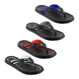 48 Units of Mens Flip Flops In Assorted Colors - Men's Flip Flops and Sandals