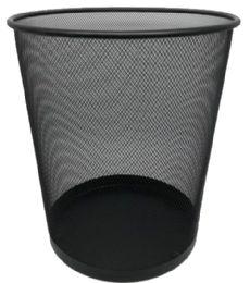20 Units of Mesh Waste Basket Black Large Size - Waste Basket