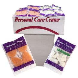 80 Units of Cosmetic Wedge And Exfoliating Puff 80pc Dump Display See n2 - Assorted Cosmetics