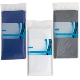 48 Units of Shower Curtain Liner 70x72in Peva W/magnets White/grey/blue - Shower Curtain