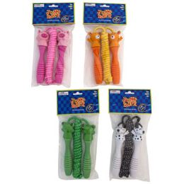 24 Units of Jump Rope 7ft W/animal Handle 4asst Pbh - Jump Ropes