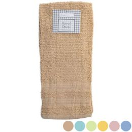 72 Units of Hand Towel 16x26 Random Assorted Colors Peggable See n2 - Kitchen Towels