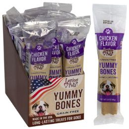 15 Units of Dog Treats Chicken Flavor Stick 2.8 Oz In Cnt Dsply Made In Usa - Pet Supplies