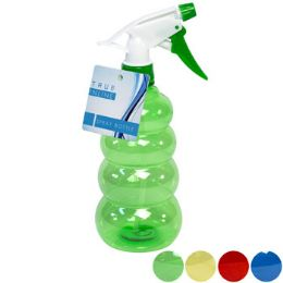 24 Units of Spray Bottle 17oz 9in 4ast Clrs Beehive Shape/case Cut Display - Spray Bottles