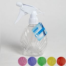 36 Units of Spray Bottle Shell Shape 8.5 Oz 6asst Colors Hba ht - Spray Bottles