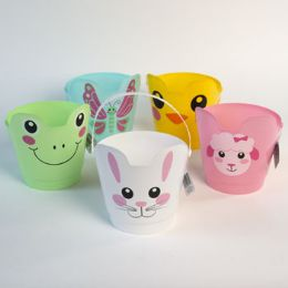 30 Units of Pail Easter Character 5asst W/handle 7.5d X 8h/easter ht - Easter