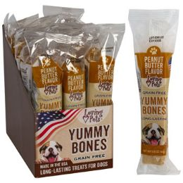 15 Units of Dog Treats Peanut Butter Stick 2.8 Oz In Cnt Dsply Made In Usa - Pet Supplies
