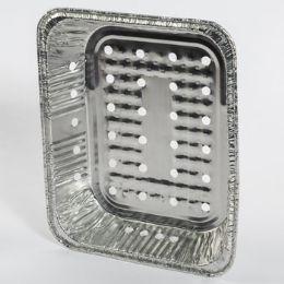 48 Units of Aluminum Foil Bbq Veggie Pan 19 Label 10.5 X 12.5 Inch - Baking Supplies