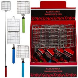 24 Units of Campfire Smore Maker Telescopic Extend To 34.5in 12pc Pdq - Outdoor Recreation