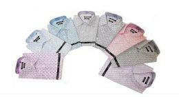 24 Units of Men's Fashion Button Down - Men's Work Shirts