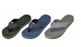 36 Units of Men's Assorted Color Flip Flop - Men's Flip Flops and Sandals