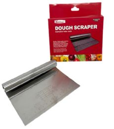 48 Units of Pastry Dough Scraper And Cutter Stainless Steel - Baking Supplies