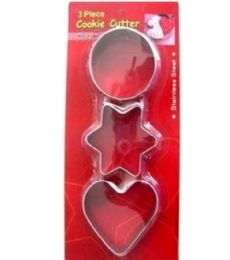 72 Units of Daily Cookie Cutter - Baking Supplies