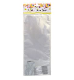 72 Units of 30 Piece Clear Cello Bags - Party Favors