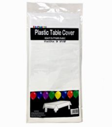 96 Units of Table Cover White - Table Cloth