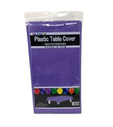 96 Units of Table Cover Purple - Table Cloth