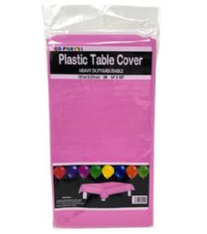 96 Units of Table Cover Fuschia 54X108 - Table Cloth