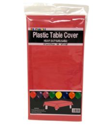 96 Units of Table Cover Red 54X108 - Table Cloth
