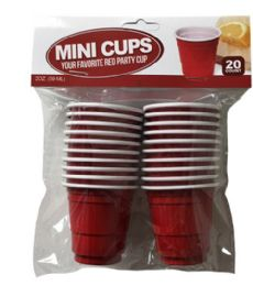 96 Units of 20 Count Mini Cup 2 oz - Disposable Cups