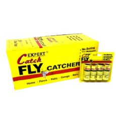 96 Units of 4 Piece Fly Tape Traps - Pest Control
