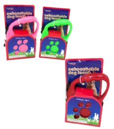 24 Units of 3m Retractable Leash - Pet Collars and Leashes
