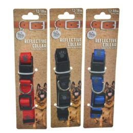 96 Units of Collar Paws Small 12-18 Inch Small - Pet Collars and Leashes