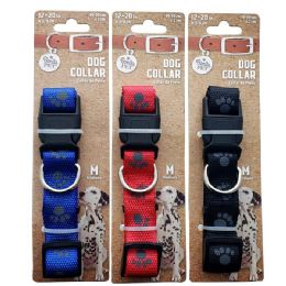 72 Units of Collar Paws Medium Size - Pet Collars and Leashes
