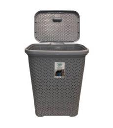 6 Units of 35 Liter Grey Rattan Rectangle Hamper - Laundry Baskets & Hampers