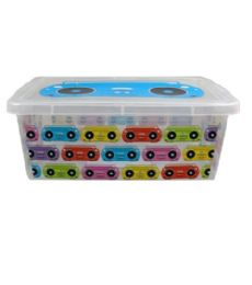 48 Units of Printed Storage Box Rectangle - Storage and Organization